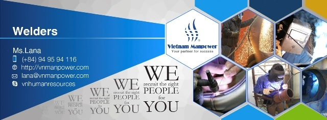 VMST provide skillful & diligent welders from Vietnam