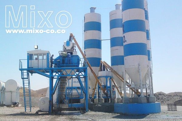 Stationary Concrete Batching Plant, Mobile Batching Plant, Portable Ba