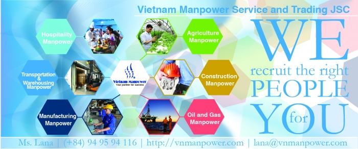 Oil and Gas Manpower service from Vietnam